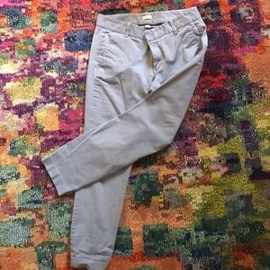 J Crew Ankle length CHINO pants